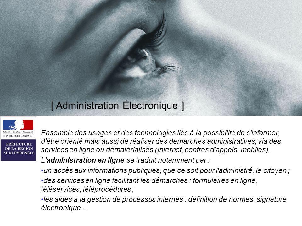 [ Administration Électronique ]
